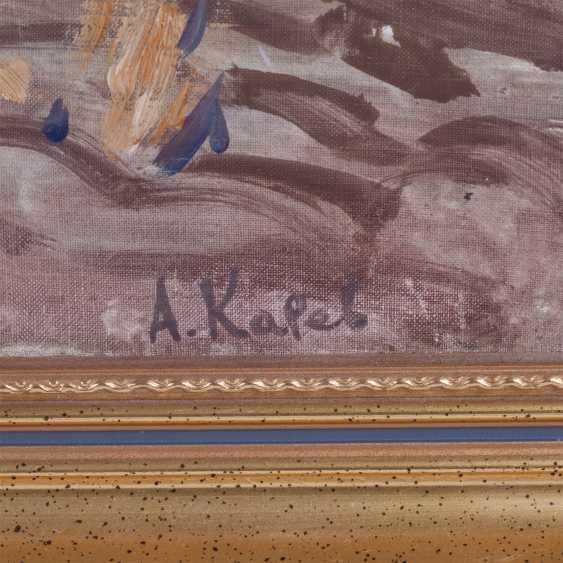 "Karev A. E. ""Rural landscape with birches"" - photo 2"