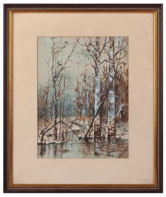"Prokofiev N. D. ""Winter landscape in cool tones"" - photo 1"
