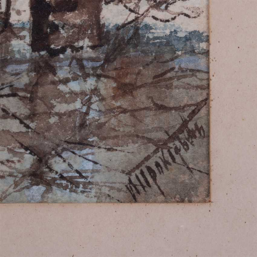 "Prokofiev N. D. ""Winter landscape in cool tones"" - photo 2"
