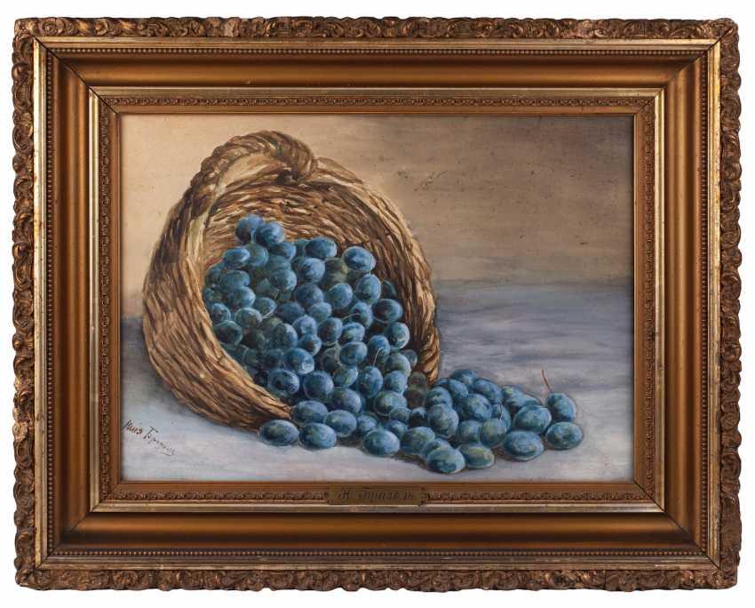 "Brazol ' Yu. N. ""Still life with plums"" - photo 1"
