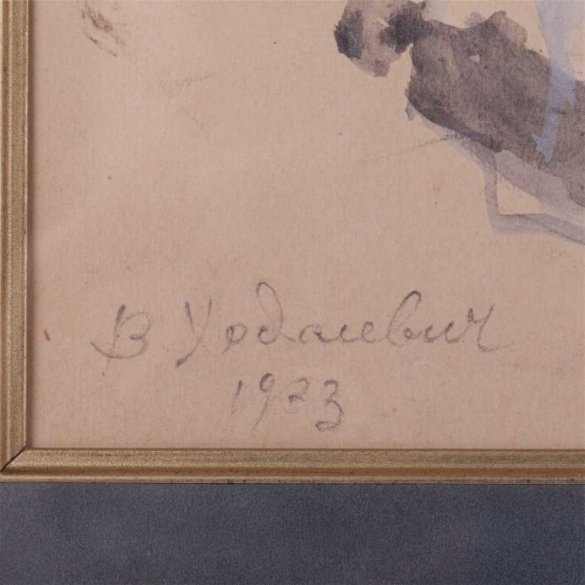 V. M. Khodasevich (1894-1970) sketch - photo 2