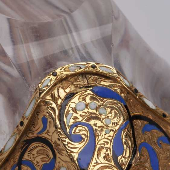 Unusual bottle in the form of a knight's helmet - photo 6