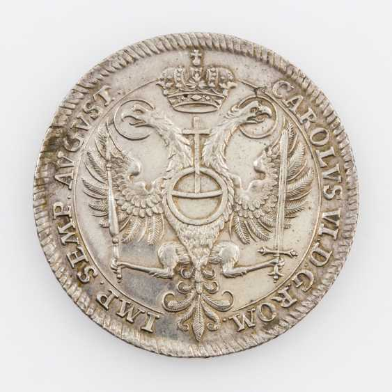 City of Hamburg - dollars in 1730, on the 2. Centenary of the Augsburg confession, - photo 2