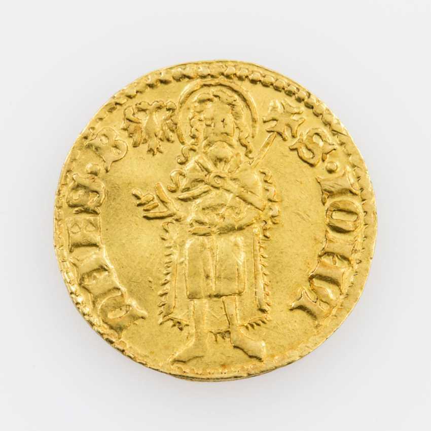 Pfalz-Kurlinie/Gold - gold Gulden o. J., Ruprecht, I. (1353-1390), Oppenheim, - photo 1