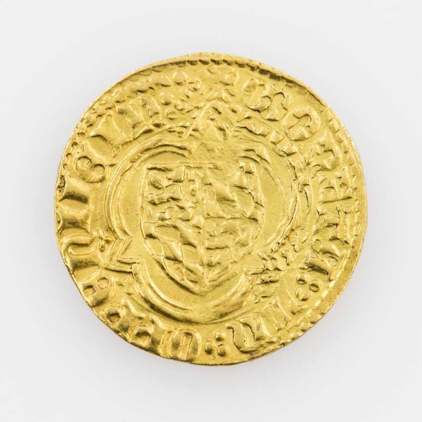 Pfalz-Kurlinie/Gold - gold Gulden o. J., Ruprecht, I. (1353-1390), Oppenheim, - photo 2