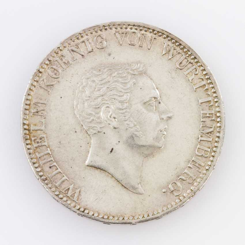 Württemberg - double Gulden of 1824, without P. B., W under the coat-of-arms without a point, - photo 1