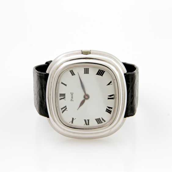 PIAGET men's watch, 18 K white gold, 1970s - photo 1