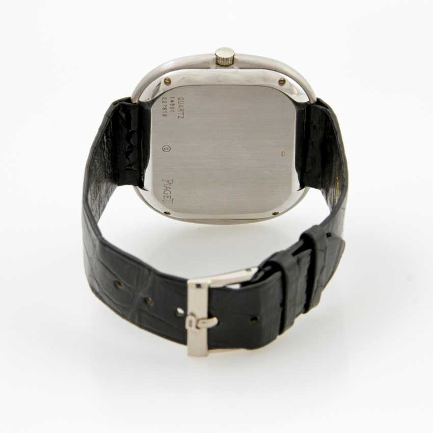 PIAGET men's watch,18 K white gold, 1970s