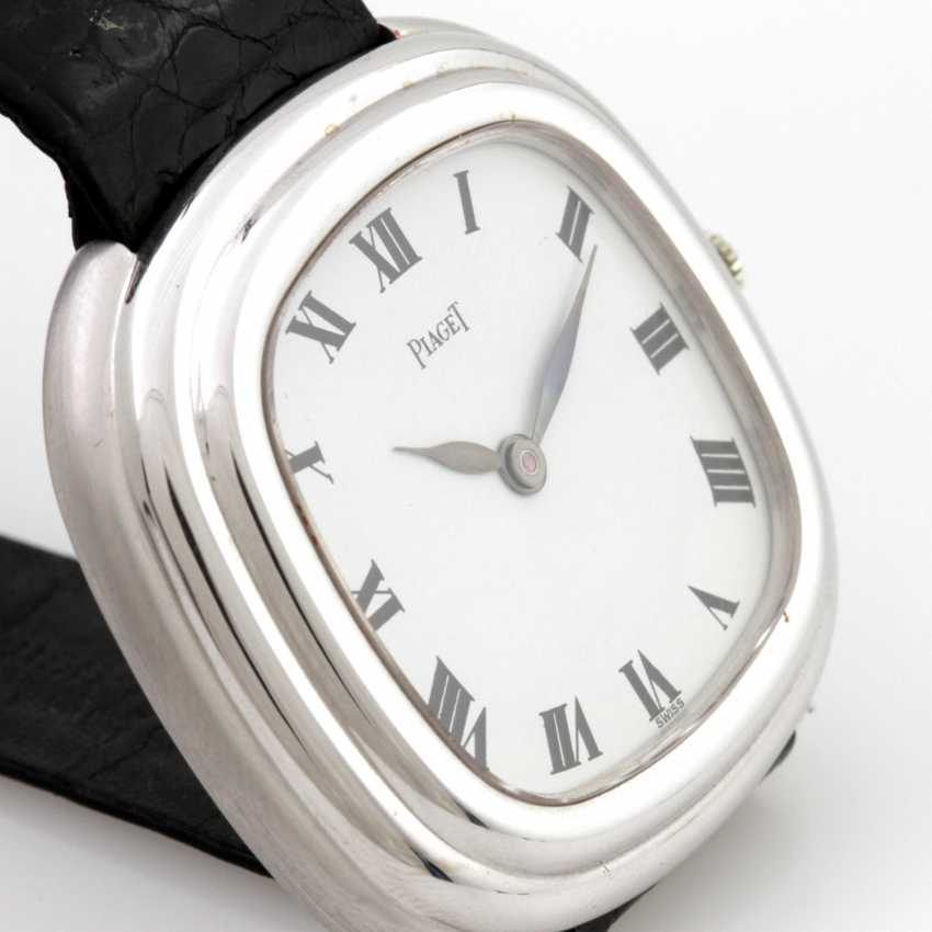 PIAGET men's watch, 18 K white gold, 1970s - photo 2