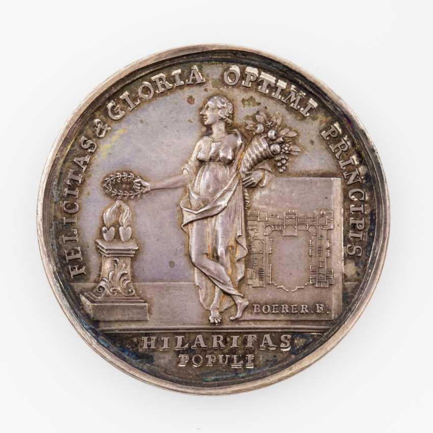 Württemberg, Karl Eugen, 1744-1793. Silver medal, 1748 - photo 1