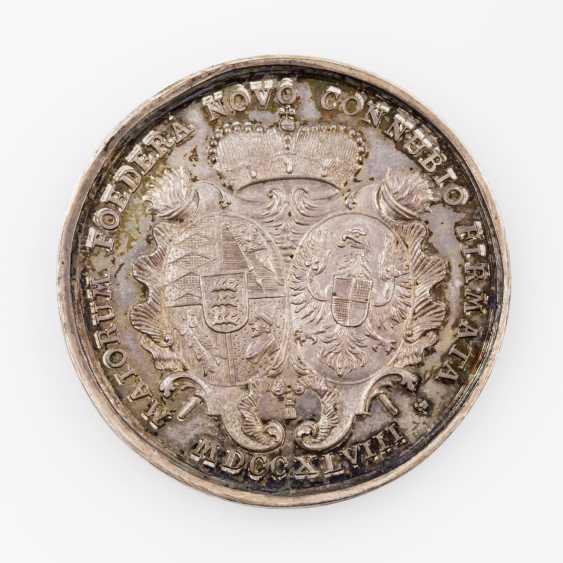 Württemberg, Karl Eugen, 1744-1793. Silver medal, 1748 - photo 2