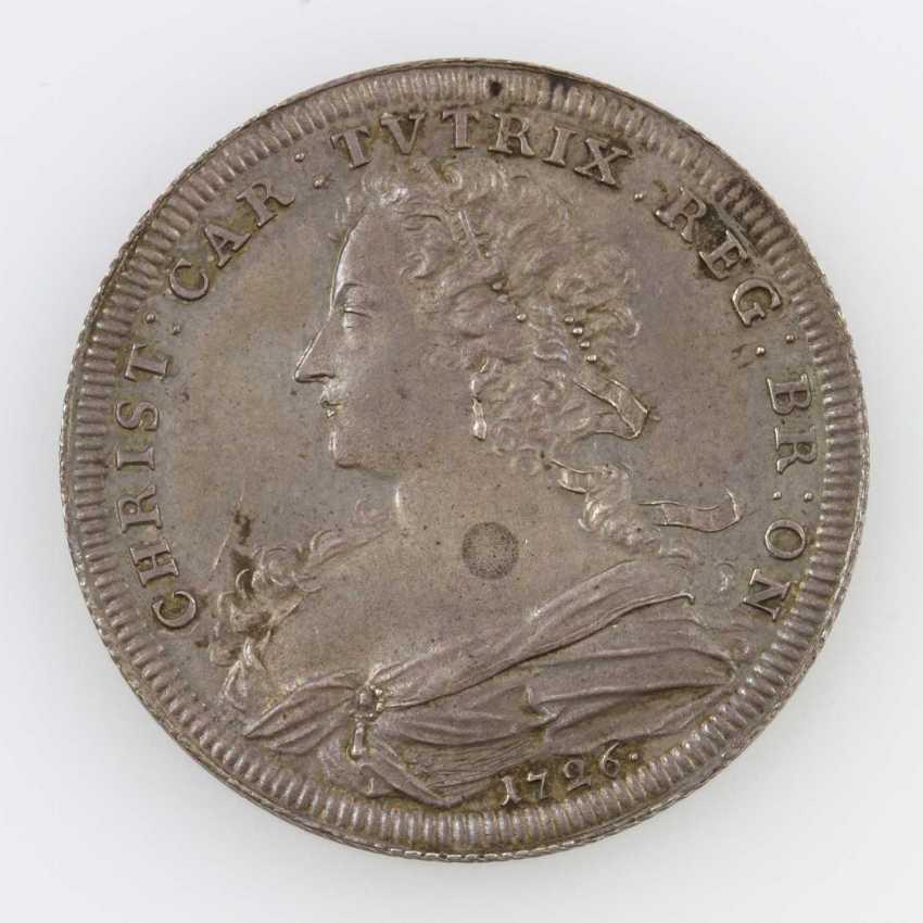 Brandenburg-Ansbach - half thalers, 1726, Christiane Charlotte of Brandenburg-Ansbach, - photo 1