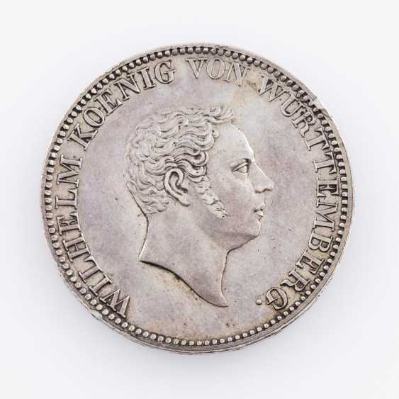Württemberg - Wilhelm I., 1816-1864. 2 Gulden 1824. WITHOUT the signature, P. B., - photo 1