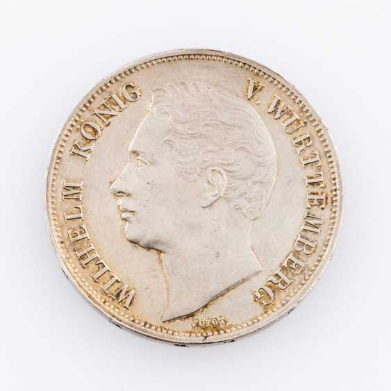 Württemberg - Wilhelm I., 1816-1864. Coin visit Gulden 1844. - photo 1