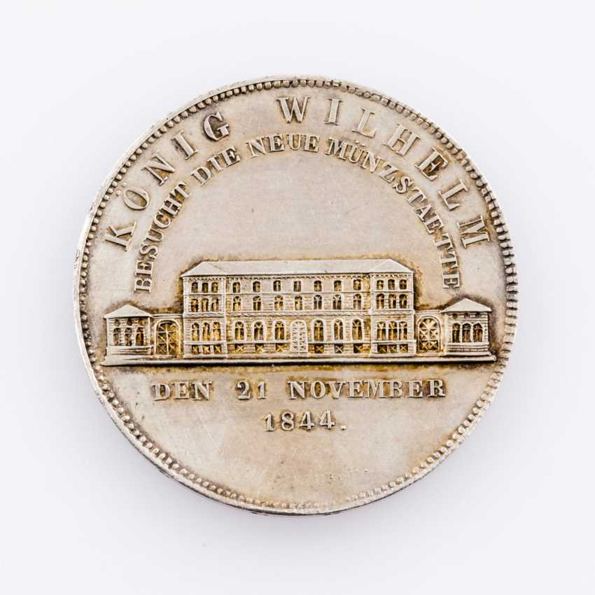 Württemberg - Wilhelm I., 1816-1864. Coin visit Gulden 1844. - photo 2