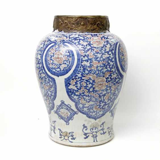 Large and magnificent floor vase. CHINA - photo 3