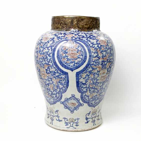 Large and magnificent floor vase. CHINA - photo 1