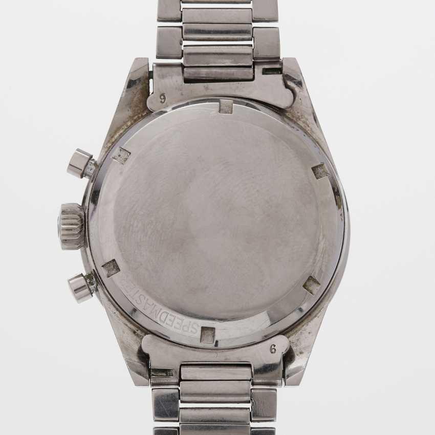 "OMEGA Herrenuhr ""Speedmaster"", 1950s, made in stainless steel. Ref. 2915-2. - photo 4"