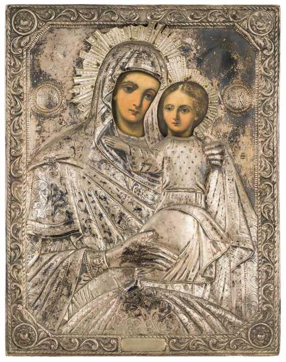 Mother of God Hodegetria with Silberoklad - photo 1