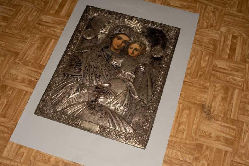 Mother of God Hodegetria with Silberoklad - photo 3
