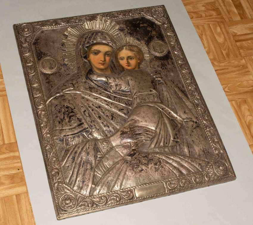 Mother of God Hodegetria with Silberoklad - photo 4