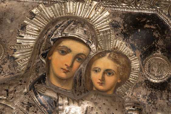 Mother of God Hodegetria with Silberoklad - photo 5