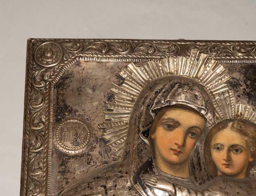 Mother of God Hodegetria with Silberoklad - photo 6