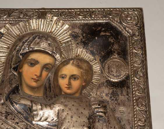 Mother of God Hodegetria with Silberoklad - photo 7