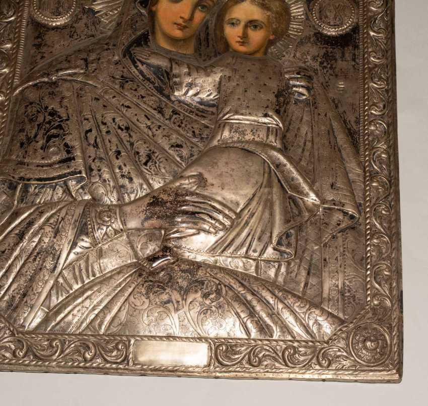 Mother of God Hodegetria with Silberoklad - photo 9