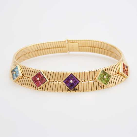 "BULGARI Collier ""Tubogas"" - photo 1"