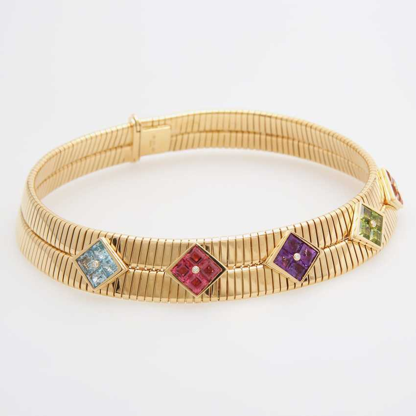 "BULGARI Collier ""Tubogas"" - photo 3"