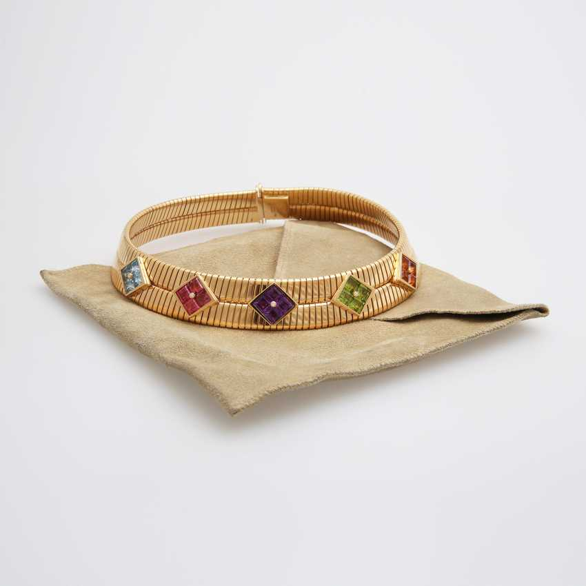 "BULGARI Collier ""Tubogas"" - photo 5"