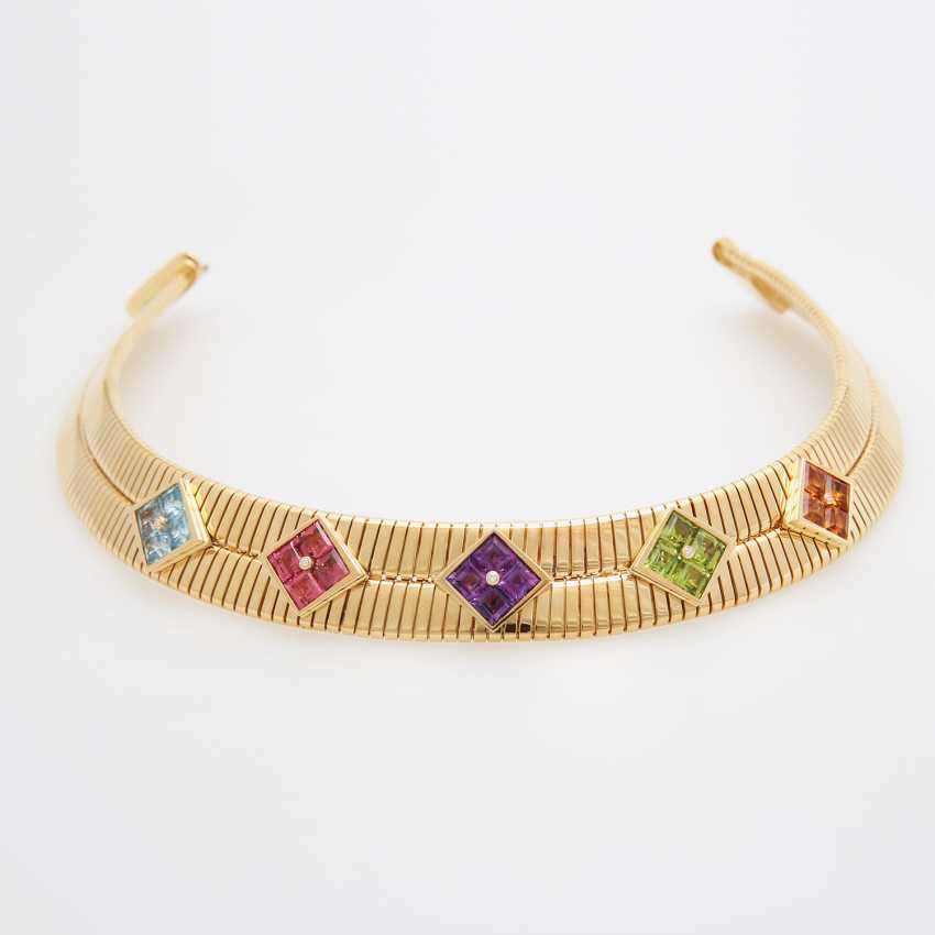 "BULGARI Collier ""Tubogas"" - photo 6"