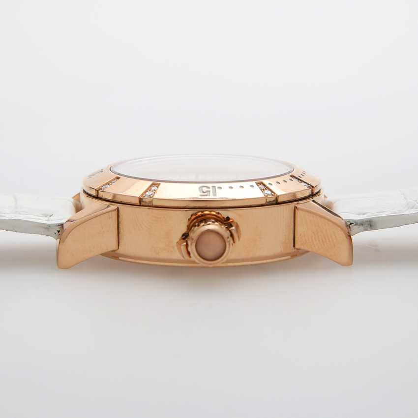 "JAEGER LE COULTRE Armbanduhr ""Lady Diving GMT Master Compressor"". Rosé-Gold 18K - photo 4"