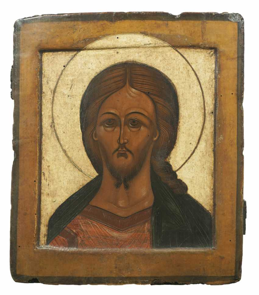 "Icon with Christ ""The Grimme eye"" - photo 1"
