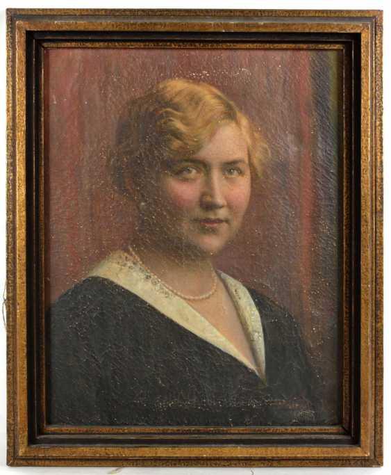 Art Nouveau ladies portrait around 1900 - photo 1