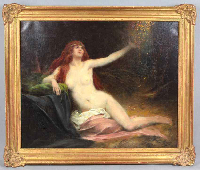 Danaë reçoit la Saulaie - Tanoux, Henri Adrien - photo 1