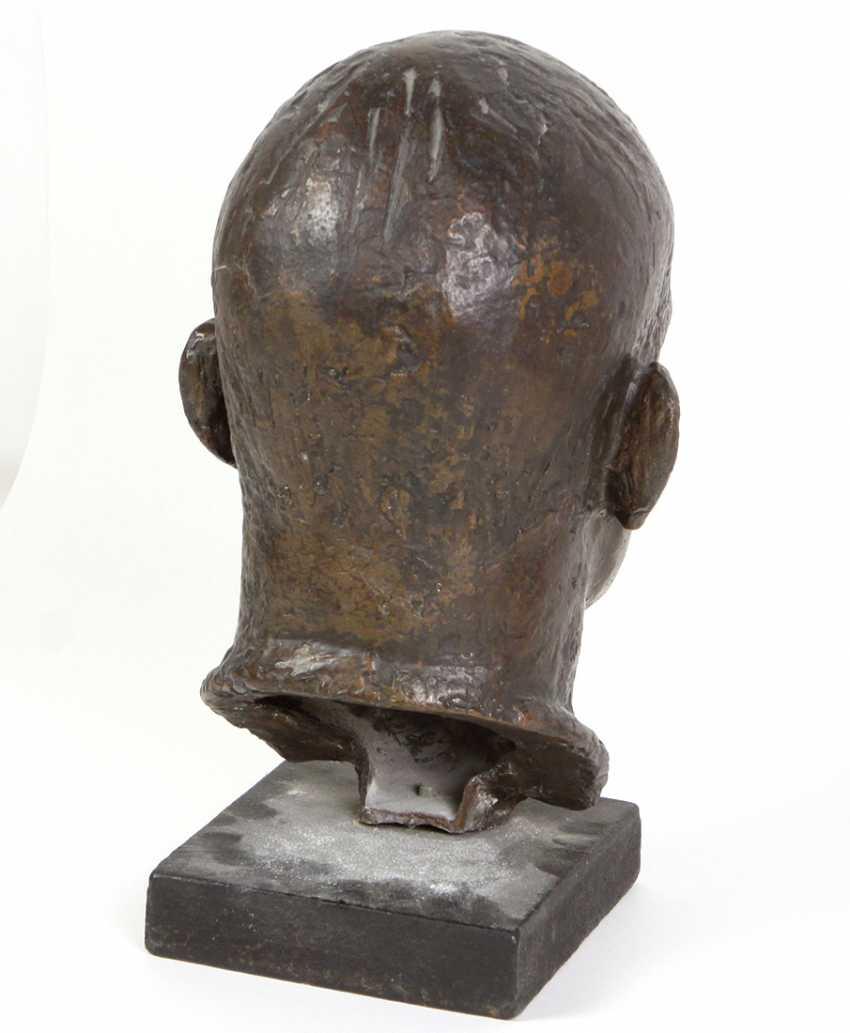 Bronze Bust Of Ernst Thälmann - photo 3
