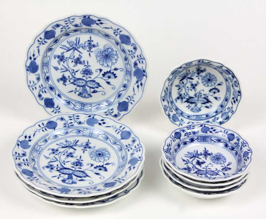 Meissen dishes & bowls *onion pattern* - photo 1