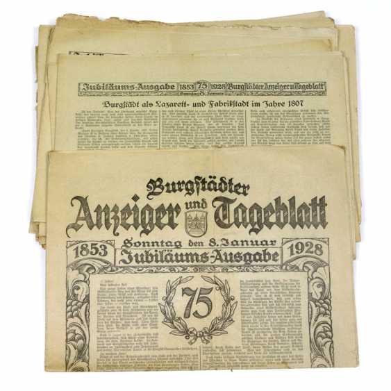 Castle dwellers indicator & Tageblatt 1928 - photo 1