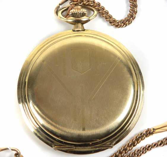 Карманные часы Savonette *Фронтальный погрузчик* цепной - фото 2