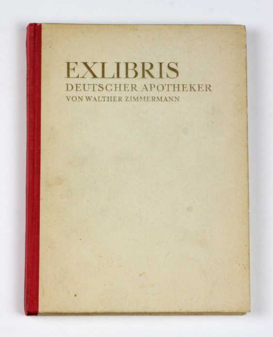 Ex-libris of German pharmacists - photo 1