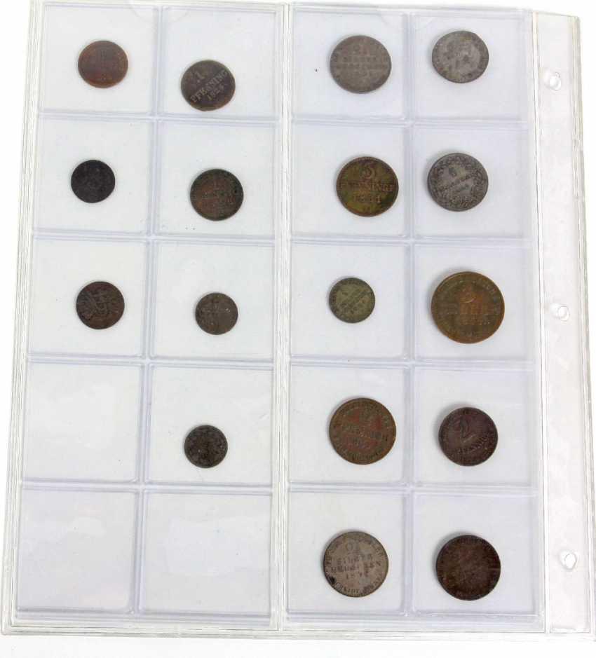 17 Kleinmünzen altdeutsch - photo 1