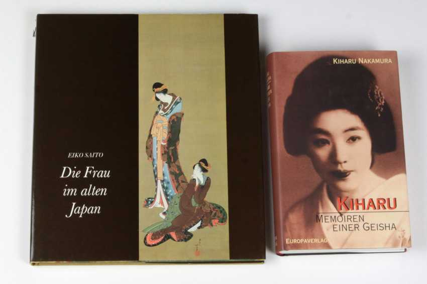 The woman in ancient Japan - photo 1