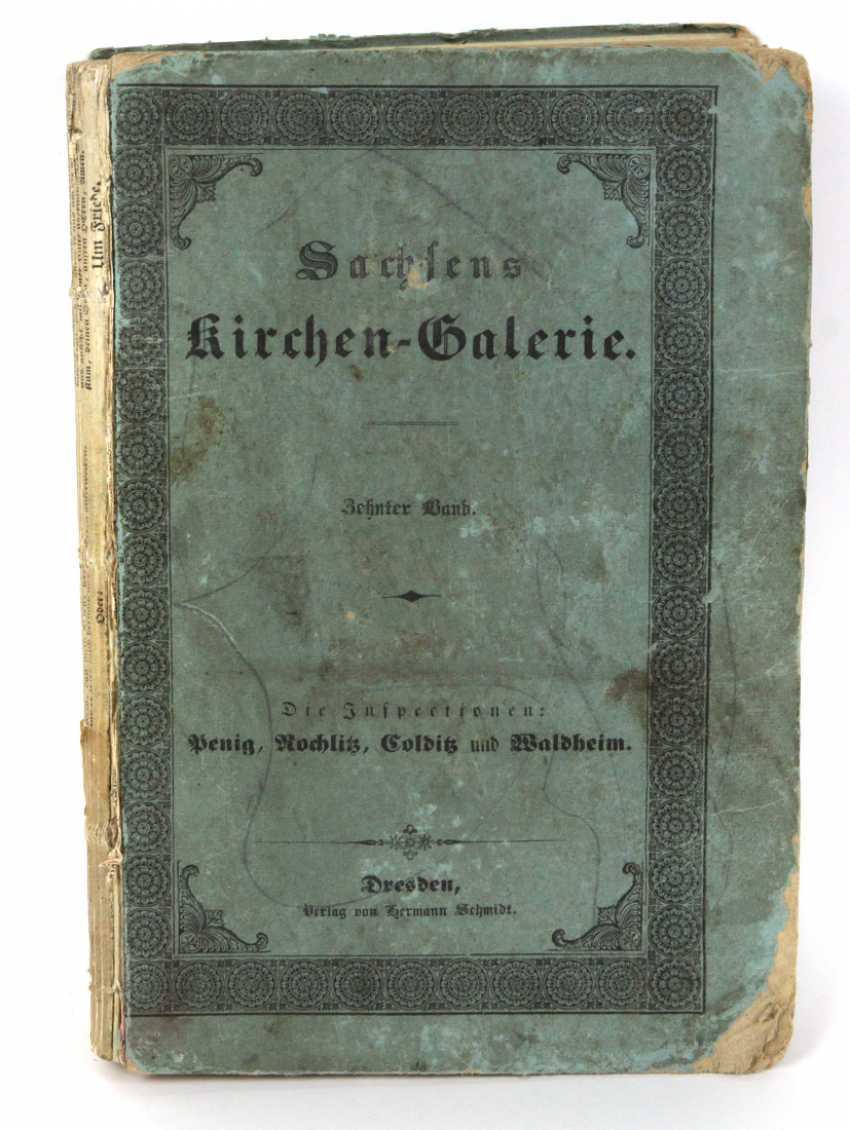 Saxony's Church gallery to 1845 - photo 1