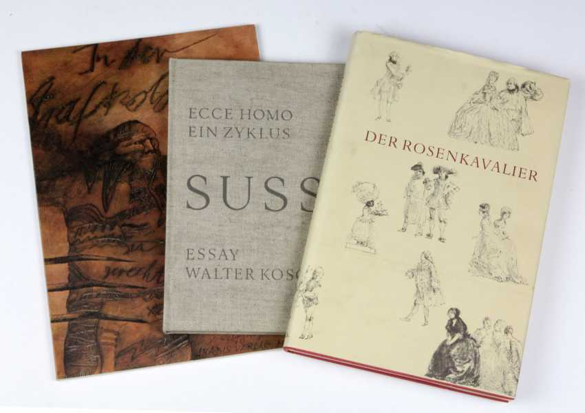 3 illustrated books - photo 1