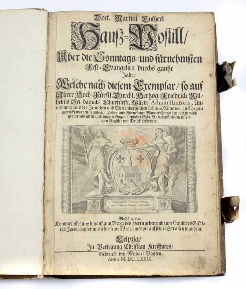 Haus - Postille 1679 - photo 1