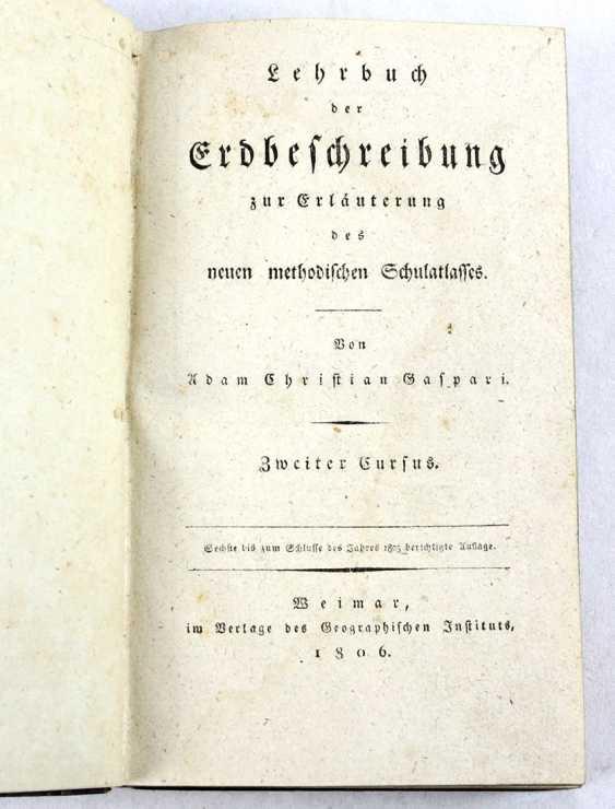Textbook Erdbeschreibung 1806 - photo 1