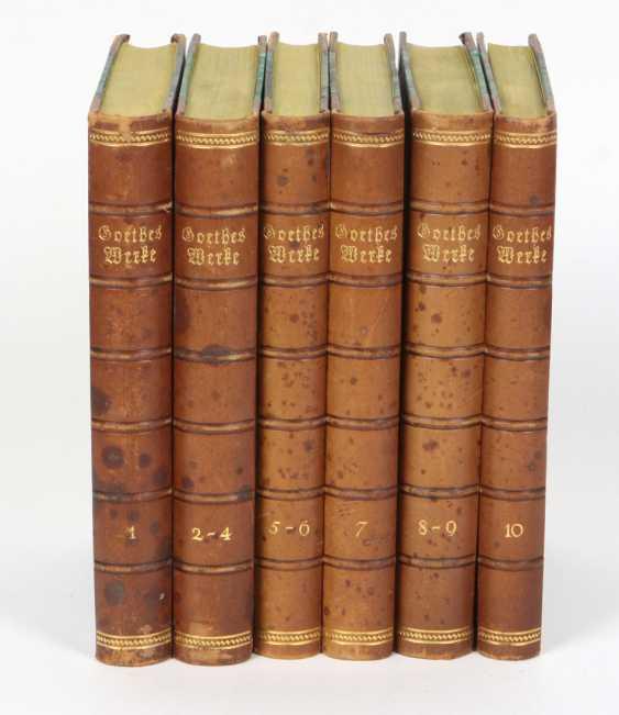 Goethes Werke ca. 1910 - photo 1