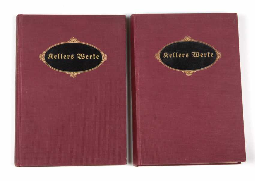 Gottfried Keller's selected works in 1920 - photo 1
